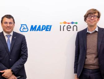 Accordo tra Iren e Mapei per il riutilizzo di polimeri riciclati nelle infrastrutture stradali