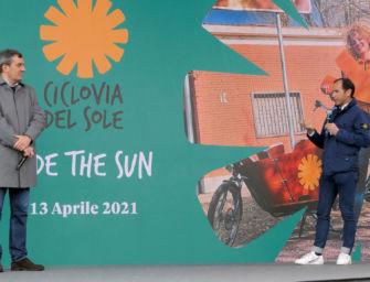 Ciclovia del Sole,  via tratto da Mirandola a Sala Bolognese di 46 km