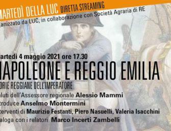 A 200 anni dalla morte, Napoleone a Reggio: storie reggiane dell'imperatore