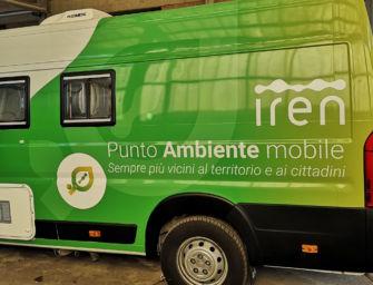 Nuova livrea, nuovo posizionamento e nuovi orari per i Punti Ambiente mobili di Iren a Reggio