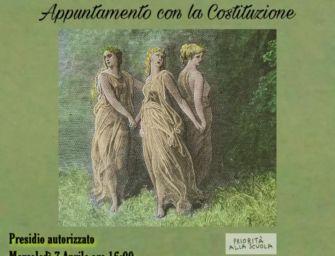 Reggio, scuola: lezione al parco all'aperto