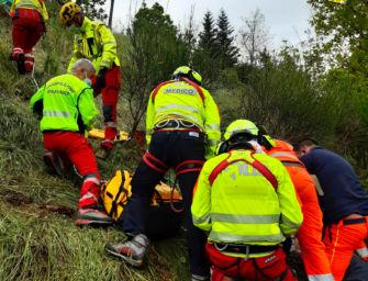 Tragedia a Tignano di Sasso Marconi: uomo di 89 anni morto dopo essere caduto in una scarpata