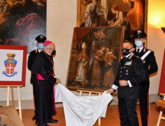 A Reggio la restituzione del dipinto rubato