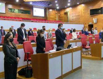 In assemblea legislativa una rosa bianca e un minuto di silenzio per ricordare il consigliere regionale Massimo Iotti