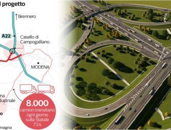 """Infrastrutture, Fiorini (Lega): """"Aprire subito i cantieri della bretella Campogalliano-Sassuolo"""""""