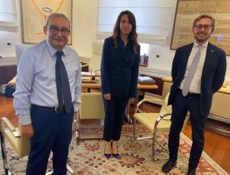 """Unifer Navale, Fiorini e Golinelli (Lega) incontrano l'ad di Fincantieri """"C'è disponibilità a trattare con governo e Regione"""""""