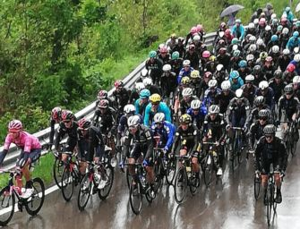 Giro d'Italia. La Piacenza-Sestola a Dombrowski: in rosa De Marchi, terzo il Bardiani Fiorelli