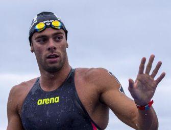 Agli Europei di nuoto di Budapest medaglia d'oro per Paltrinieri nella 5 km