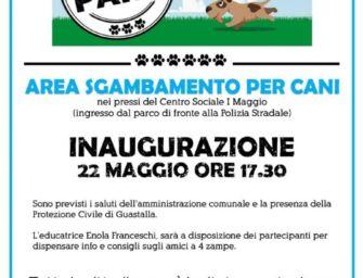 Inaugura a Guastalla il nuovo sgambatoio in via Castagnoli