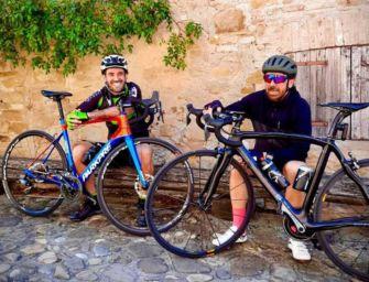 Benny Benassi e Zanni su strade del Giro d'Italia