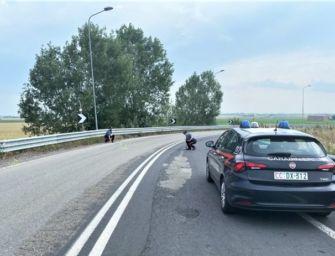 San Polo d'Enza. Ubriaco al volante, si schianta contro il guardrail: sanzionato e denunciato