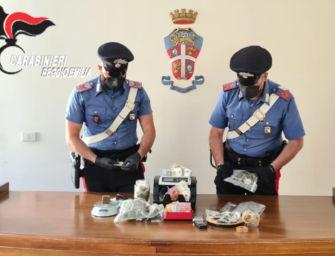 Reggio. Aveva mezzo chilo di hashish e marijuana in casa: arrestato spacciatore di 24 anni