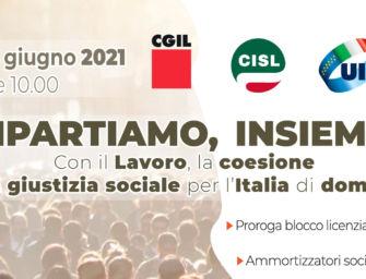 Sabato 26 giugno Cgil, Cisl e Uil dell'Emilia-Romagna in piazza a Firenze per la proroga del blocco dei licenziamenti
