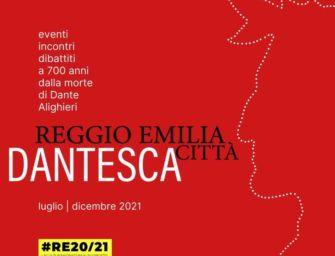 Reggio Emilia città dantesca, il calendario dal 4 luglio