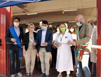Al via il nuovo hub vaccinale di Scandiano
