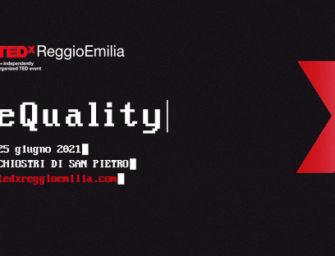 """Venerdì 25 giugno ai chiostri di San Pietro il TEDxReggioEmilia """"eQuality"""""""