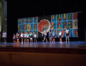 Quaranta bambini e bambine nel primo campo estivo della Fondazione I Teatri di Reggio