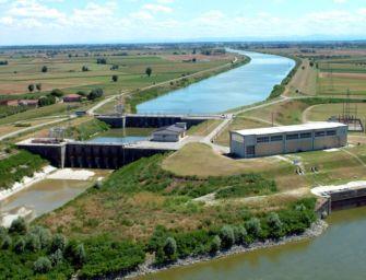 Prelievi record del Canale emiliano-romagnolo dal fiume Po per contrastare la siccità