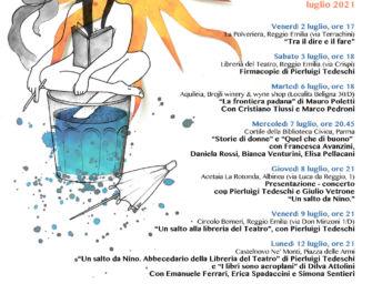 A luglio a Reggio e provincia incontri con gli autori e presentazioni di libri della casa editrice Consulta