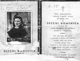 Mercoledì 28 luglio a Reggio il 78° anniversario dell'eccidio delle Officine Reggiane