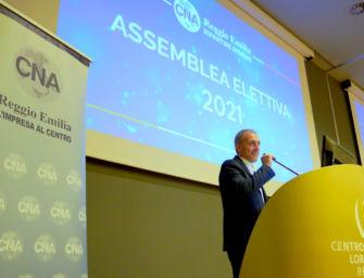 Giorgio Lugli rieletto alla guida della Cna di Reggio per il quadriennio 2021-2025