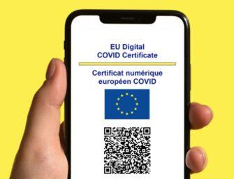 Green Pass UE per viaggiare in Europa