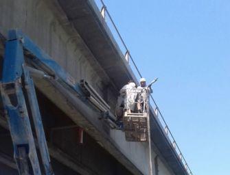 Procedono i lavori sul ponte sul Po tra Guastalla e Dosolo, ma il termine è slittato al 3 ottobre