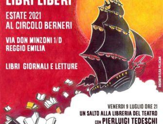 """Al circolo Berneri di Reggio la presentazione del libro di Pierluigi Tedeschi """"Un salto da Nino"""""""