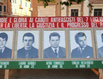 61° anniversario dei martiri del 7 luglio 1960, a Reggio le celebrazioni con il ministro Orlando