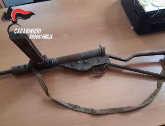 A Quattro Castella ritrovate in un seminterrato armi risalenti alla Seconda guerra mondiale