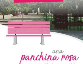 Reggio. 'Senonaltro' inaugura al Parco Cervi la Panchina Rosa