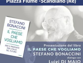 """Scandiano. Stasera Bonaccini presenta il suo libro """"Il Paese che vogliamo"""" con Di Maio"""