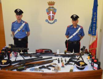 Nei primi sette mesi del 2021 a Reggio sequestrate più di cento armi e migliaia di munizioni
