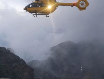 Tragedia in Val Bondione: alpinista di 25 anni di Parma precipita e muore sul Pizzo Coca