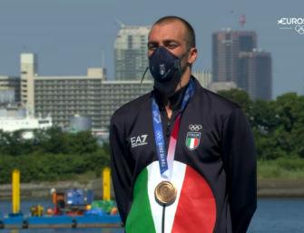 Nuoto 10 km, bronzo olimpico per Paltrinieri