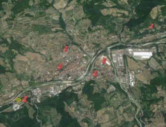 Incendio alla Oppimitti Costruzioni di Borgo Val di Taro, interviene anche l'Arpae