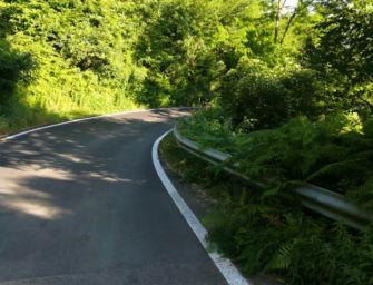 A Carpineti nuovi lavori sulla strada provinciale Sp 76 per il castello matildico