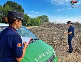 Reggiolo, 15.000 tonnellate di rifiuti stoccate in cantiere: 3 denunce