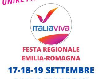 A Sasso Marconi la Festa di Italia viva