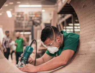 Robusta ripresa del settore metalmeccanico reggiano nel secondo trimestre del 2021: +55,8%