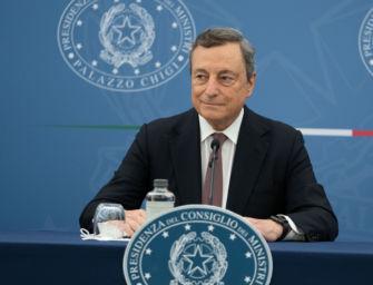 """Draghi: """"Il green pass sarà esteso"""""""