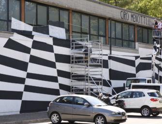 Modena. Ciro Menotti, inaugura il murale alla Cittadella