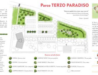 Vivi il verde, inaugurazione del Parco Terzo Paradiso a Guastalla