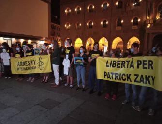 A Bologna 200 persone in piazza per Zaki