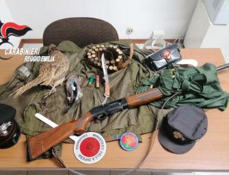 Scoperto a caccia a Vezzano sul Crostolo nel giorno di silenzio venatorio: denunciato