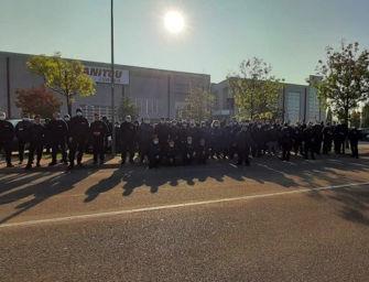 Alla Manitou Italia di Castelfranco Emilia sciopero di due ore dopo il grave infortunio sul lavoro