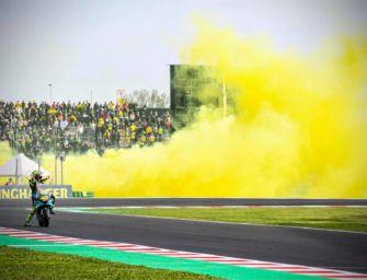 Bonaccini: Rossi, un campione straordinario